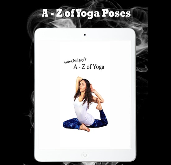 A - Z of Yoga poses