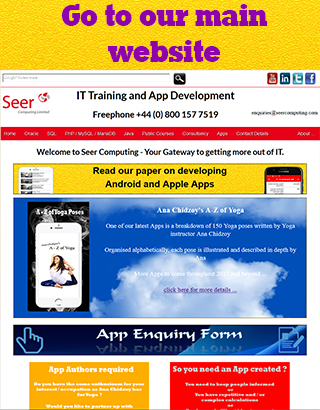 Seer Computing - Oracle Forms Training and Consultancy