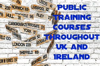 Signpost to public training courses