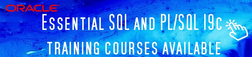 Essential SQL and PLSQL courses